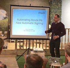 Speaking at SWMobile on automating iOS code signing