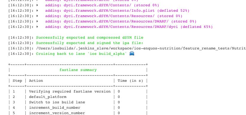 Getting Proper UTF-8 Output From Fastlane on Jenkins 2 0 Pipeline